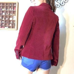 Bloomingdale's Jackets & Coats - COMPTOIR DES COTONNIERS Le Vestiaire Velvet Blazer